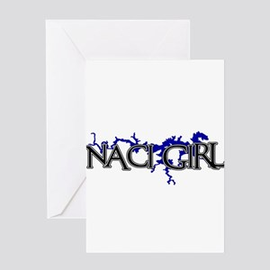 NACI GIRL [3] Greeting Cards
